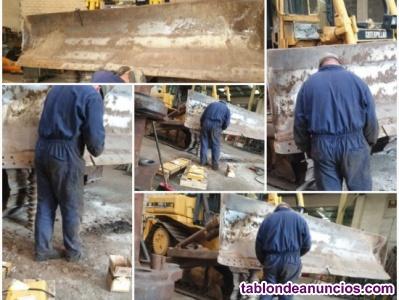 Mantenimiento y reparación de bulldozers