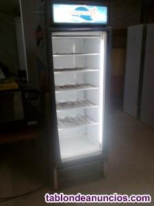 Congelador vertical, escarcha copas