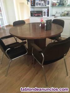 Mesa de reunion con sillones