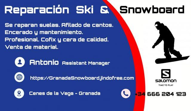 Reparación Ski y Snowboard