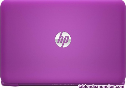 Vendo portatil hp rosa 11'