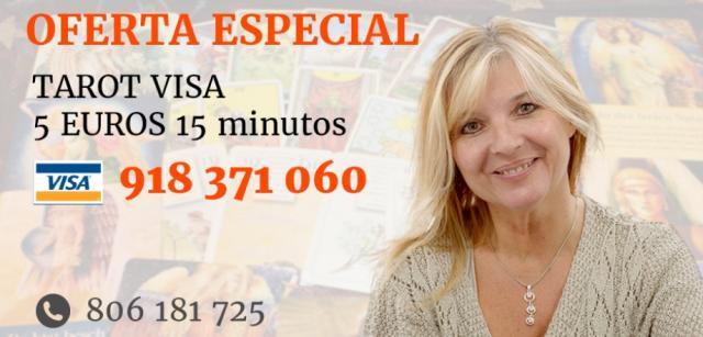 CONSULTA DE TAROT Y VIDENCIA POR 5€ 15 MINUTOS. 806 POR
