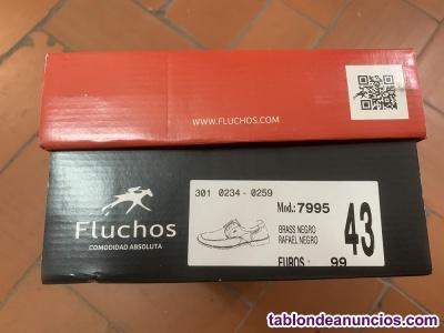 Zapatos fluchos light sin cordones del nº43 sin estrenar,