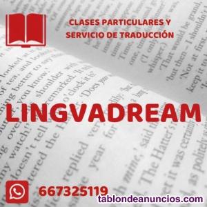 Clases de inglés con profesora nativa