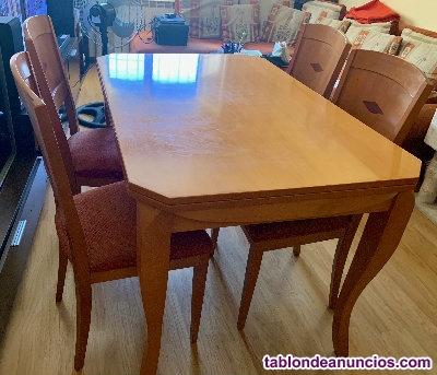 Venda mesa comedor madera de cerezo