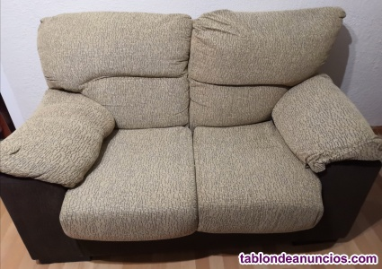 Vendo sofa 2 plazas como nuevo