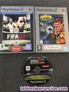3 juegos playstation 2