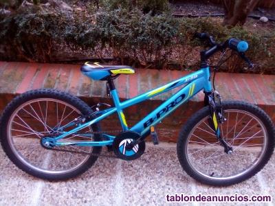 Vendo bicicleta montaña niño b-pro jr 20