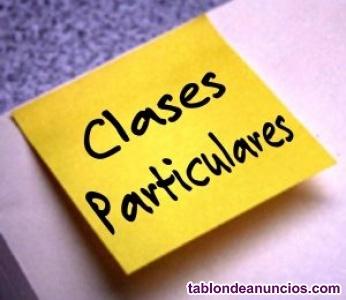 Clases particulares de matemáticas y física y química