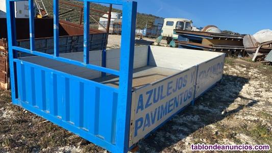 Caja de camion 4m con laterales aluminio