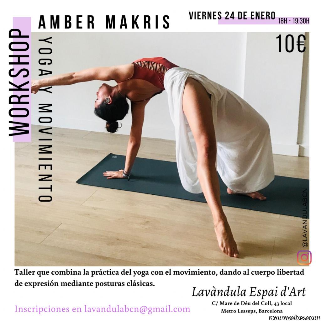 Clase de yoga y movimiento - Barcelona