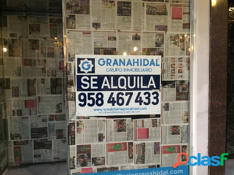ALQUILER DE LOCAL EN EL CENTRO DE GRANADA