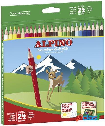 Alpino Estuche 24 Lápices Colores