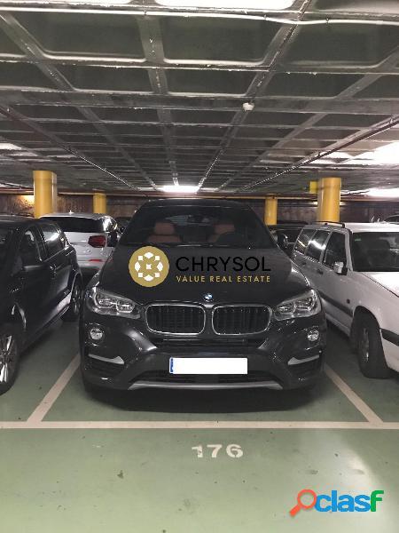 Alquiler Plaza de Parking C/Ganduxer (Piscinas y deportes -