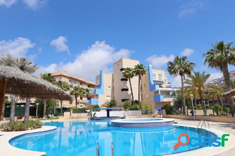 Apartamento con vistas al mar en Aguamarina (Cabo Roig)