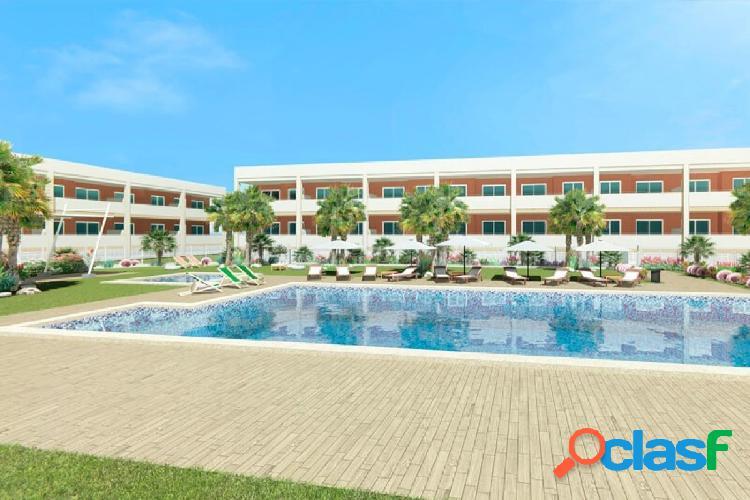 Apartamentos en residencial con parking, trastero y zonas