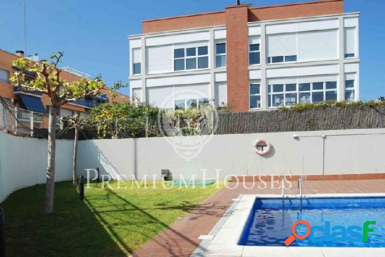 Bajos con jardín en Pla de Montgat, Costa BCN