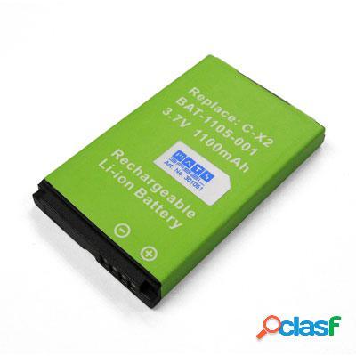 Bateria para Blackberry 8800, 8820, 8830, modelo C-X2, Litio