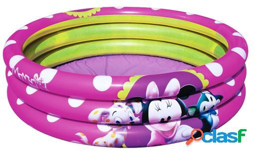 Bestway Piscina 3 Tubos Minnie
