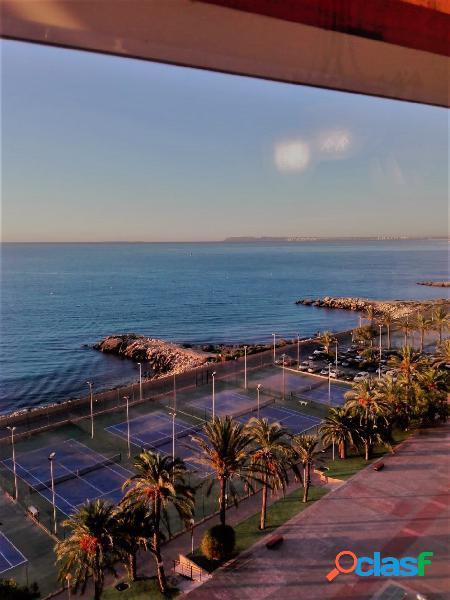 Bonitas vistas al mar en la Albufereta