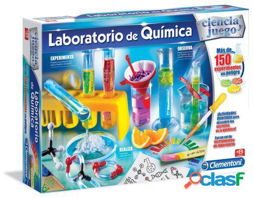 Clementoni Laboratorio de Química 150 experimentos 7,00 x