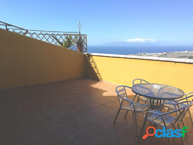 Costa Adeje Piso 2 habitaciones con terraza 30m2 con vista,