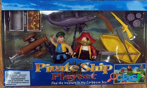 Dimasa Caja 2 Piratas Con Accesorios