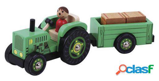 Dimasa Tractor Madera Con Remolque