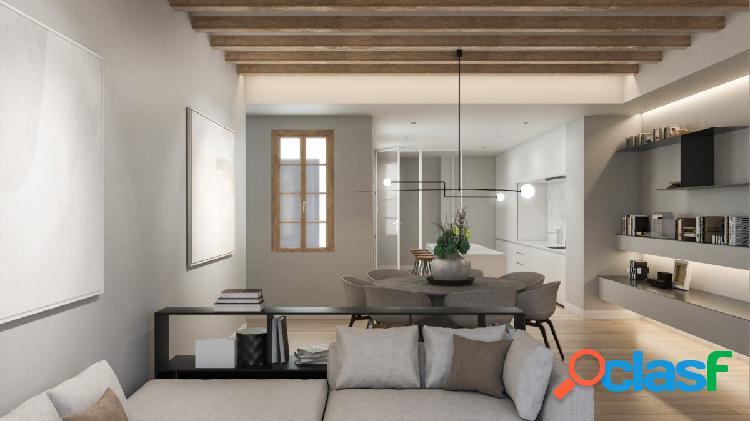 Espectacular piso de 164 m² de 3 habitaciones y 2 baños.