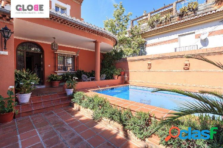 Estupenda casa independiente en el barrio de Monachil