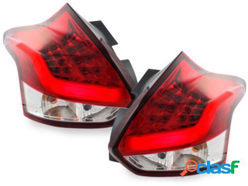 Focos Faros traseros LED Ford Focus 2011+ rojo/cristal