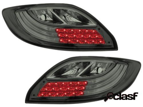 Focos traseros de LEDs Mazda 2 07-10 _ ahumados