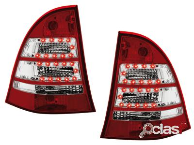 Focos traseros de LEDs Mercedes Benz C W203 00-07_station