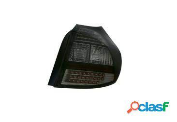 Focos traseros negros de LEDs para BMW Serie 1 E87