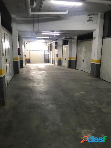 Garaje Trastero cerrado de 18 m2.