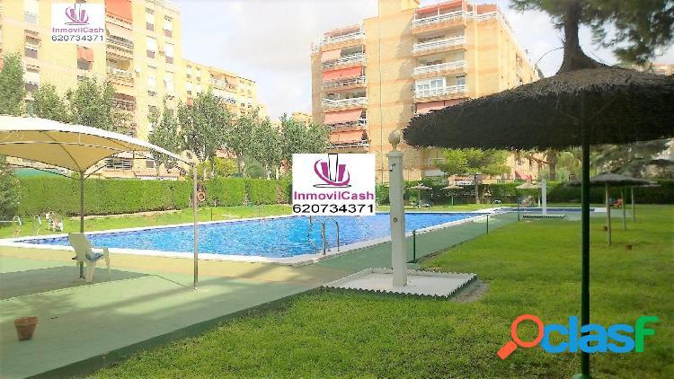 INMOVILCASH VENDE Piso en Alicante zona Benalúa-Alipark.