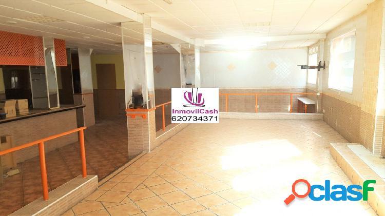 INMOVILCASH VENDE amplio local en zona San Blas, 35 metros