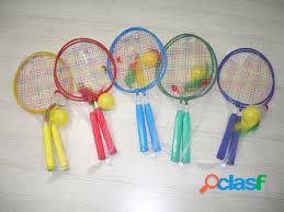 Import Juego Badminton Corto 3 Pelotas