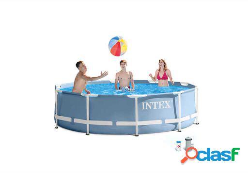Intex Piscina Redonda Premium 366x76 Con Bomba