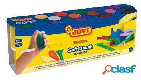 Jovi Pack10 Bote Y Accesorios Pasta Soft Dough