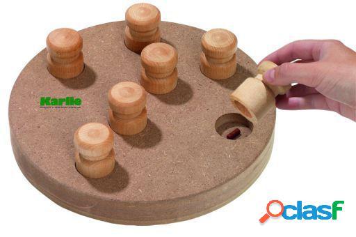 Karlie Flamingo Doggy brain train juego de madera para