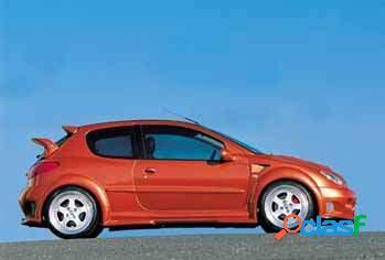 Kit pasos de rueda traseros Peugeot 206 kit Impact R Esquiss