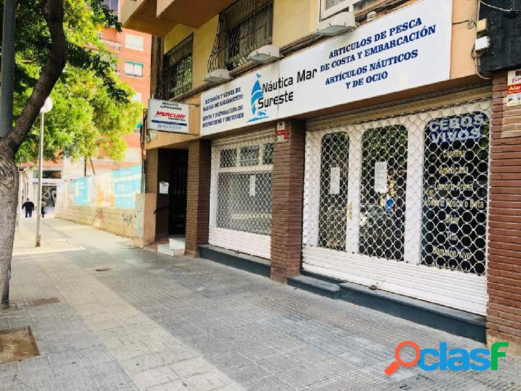 LOCAL COMERCIAL A PIE DE CALLE EN BENALUA