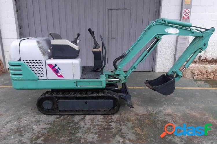 Mini excavadora 1.700 kg