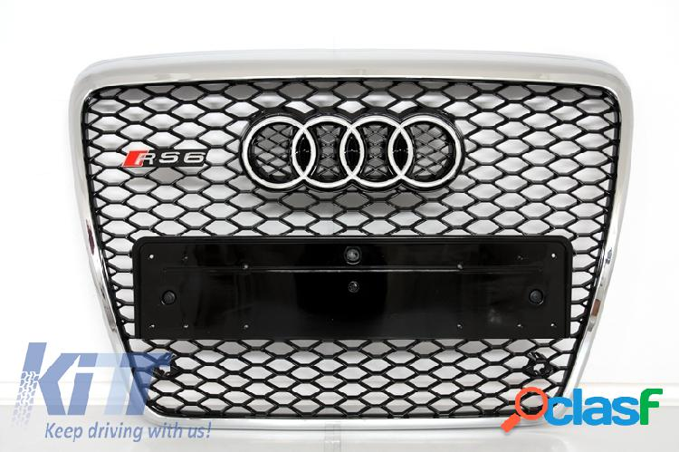 Parrilla Central Audi A6 4F 2004 - 2011 Diseño RS6
