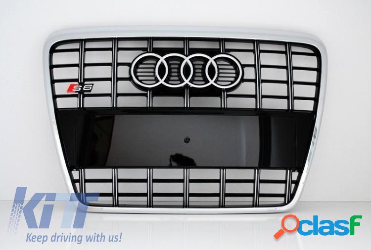 Parrilla Frontal Audi A6 4F 2004 - 2010 Edicion Negro con