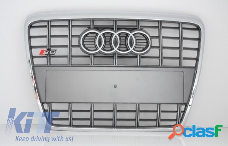 Parrilla Frontal Audi A6 4F 2004 - 2010 Edicion Platinum con