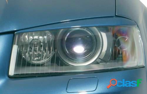 Pestañas focos delanteros Audi A3 8P 03-08 (ABS)