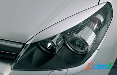 Pestañas focos delanteros Opel Astra H GTC/5prts (ABS)