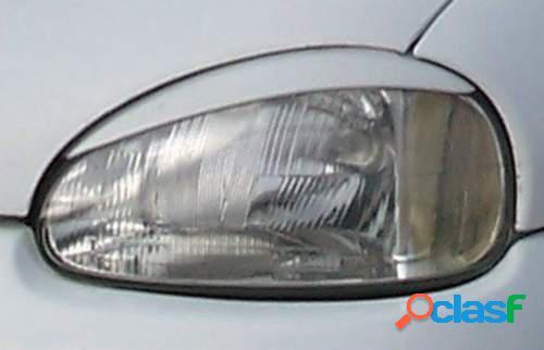 Pestañas focos delanteros Opel Corsa B 3/93-9/00 (ABS)